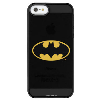Batman Symbol | Oval Logo Clear iPhone SE/5/5s Case