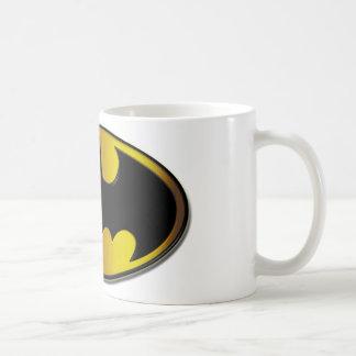 Batman Symbol | Oval Logo Gradient Basic White Mug