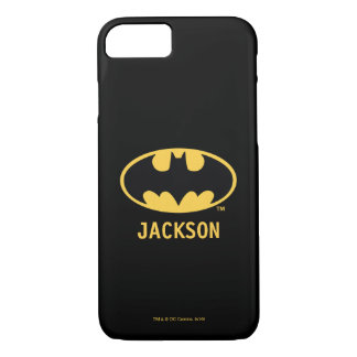 Batman Symbol | Oval Logo iPhone 8/7 Case