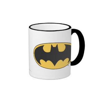 Batman Symbol | Oval Logo Ringer Mug
