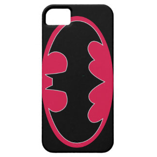 Batman Symbol | Red Black Logo Case For The iPhone 5