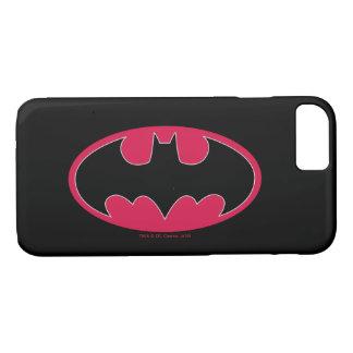 Batman Symbol | Red Black Logo iPhone 8/7 Case
