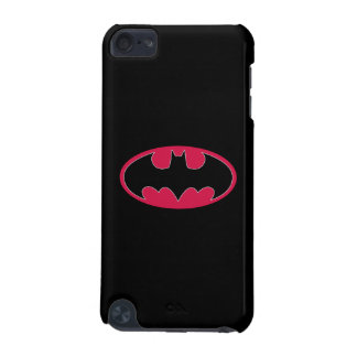Batman Symbol | Red Black Logo iPod Touch (5th Generation) Covers