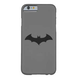 Batman Symbol | Simple Bat Silhouette Logo Barely There iPhone 6 Case