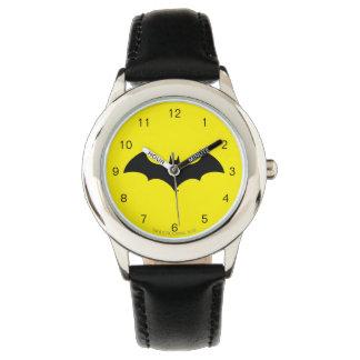 Batman Symbol | Simple Bat Silhouette Logo Watch
