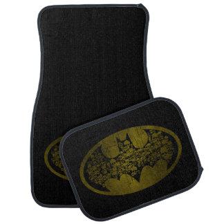 Batman Symbol | Skulls in Bat Logo Car Mat