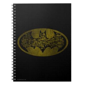 Batman Symbol | Skulls in Bat Logo Notebook