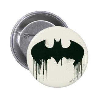 Batman Symbol | Spraypaint Logo 6 Cm Round Badge