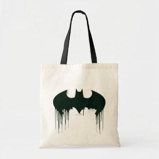 Batman Symbol | Spraypaint Logo Budget Tote Bag
