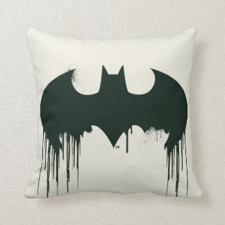 Batman Symbol | Spraypaint Logo Cushion