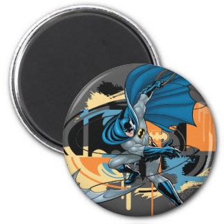 Batman Throw 6 Cm Round Magnet