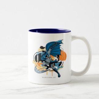 Batman Throw Two-Tone Mug