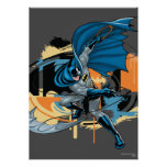 Batman Throw Poster