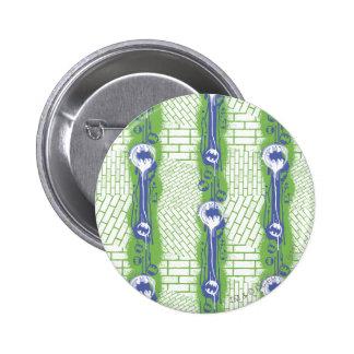 Batman Twisted Brick Pattern 6 Cm Round Badge