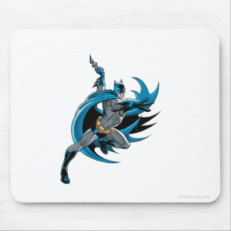 Batman Twists Mouse Pad