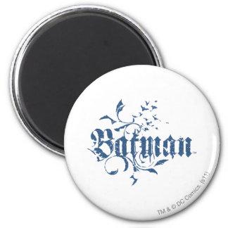 Batman | Urban Blue Logo 6 Cm Round Magnet