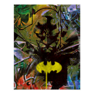 Batman Urban Hip Poster