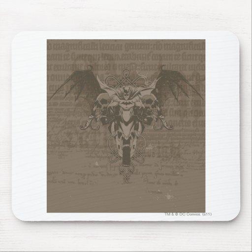 Batman Urban Legends - Batman Calligraphy Mousepad