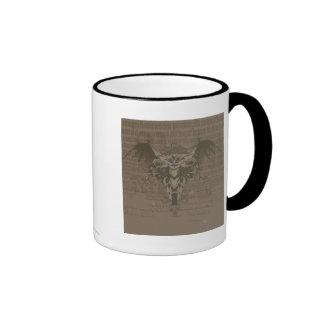Batman Urban Legends - Batman Calligraphy Ringer Mug
