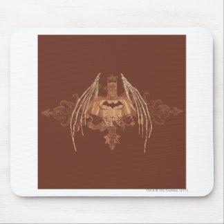 Batman Urban Legends - Brown Bat Wings Mouse Pad