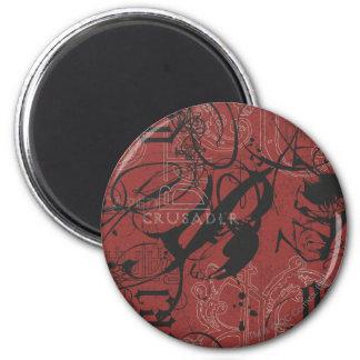 Batman Urban Legends - Caped Crusader Pattern 2 6 Cm Round Magnet