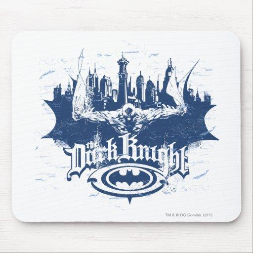 Batman Urban Legends - Dark Knight Cityscape 2 Mousepad