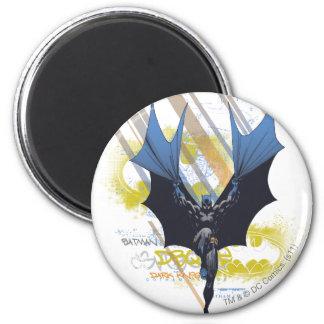 Batman Urban Legends - Dark Knight Graffiti 6 Cm Round Magnet
