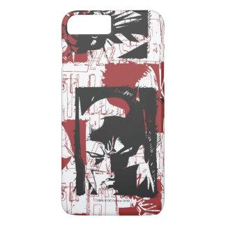 Batman Urban Legends - Mask & Fist Stamp Red iPhone 7 Plus Case