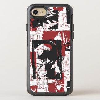 Batman Urban Legends - Mask & Fist Stamp Red OtterBox Symmetry iPhone 7 Case