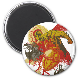 Batman Vintage All Hallows Eve 6 Cm Round Magnet