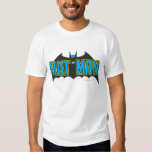 Batman   Vintage Blue Black Logo Tee Shirts
