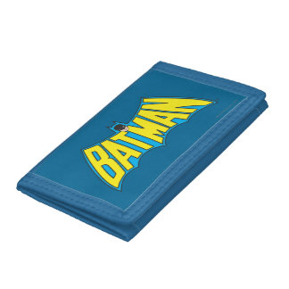 Batman Vintage Logo 2 Tri-fold Wallets