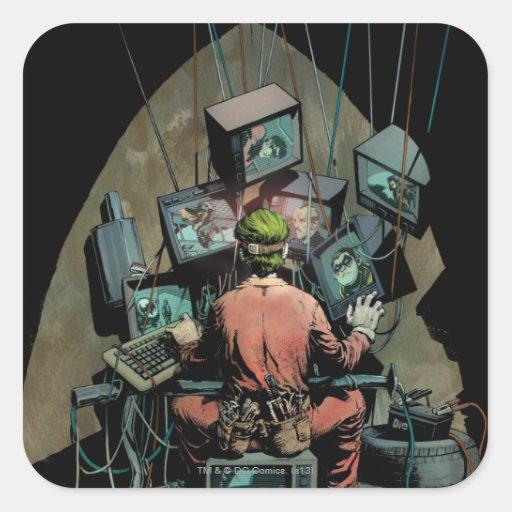 Batman Vol 2 #14 Cover Square Stickers