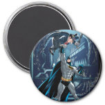 Batman vs. Penguin 7.5 Cm Round Magnet