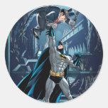 Batman vs. Penguin Round Sticker