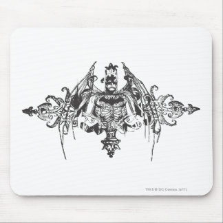 Batman with Bones Mouse Pads