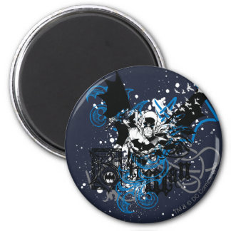 Batman with Knotwork Collage Magnets