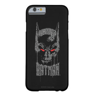 Batman With Mantra Barely There iPhone 6 Case