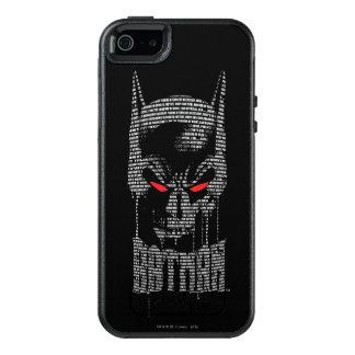 Batman With Mantra OtterBox iPhone 5/5s/SE Case