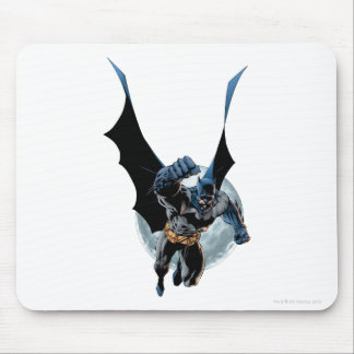 Batman with Moon Mouse Pad