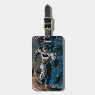 Batman's Stride Luggage Tag