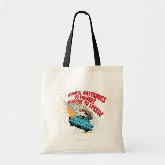 Batmobile Graphic Budget Tote Bag