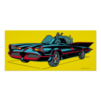 Batmobile Poster