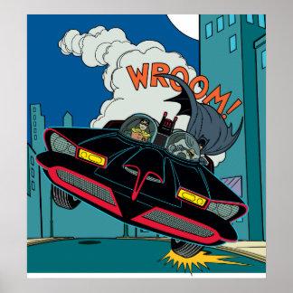 Batmobile Wroom! Poster