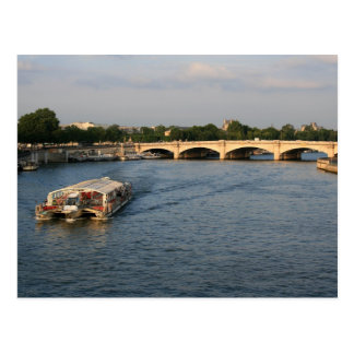 Batobus at Pont de la Concorde Postcard