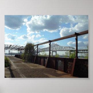 Baton Rouge Bridge Posters