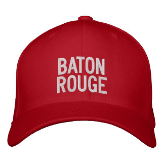 Baton Rouge Embroidered Hats