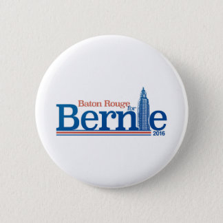 Baton Rouge for Bernie Sanders | Standard Button