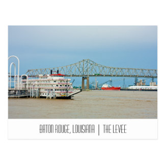 Baton Rouge Louisiana postcard