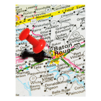 Baton Rouge, Louisiana Postcard